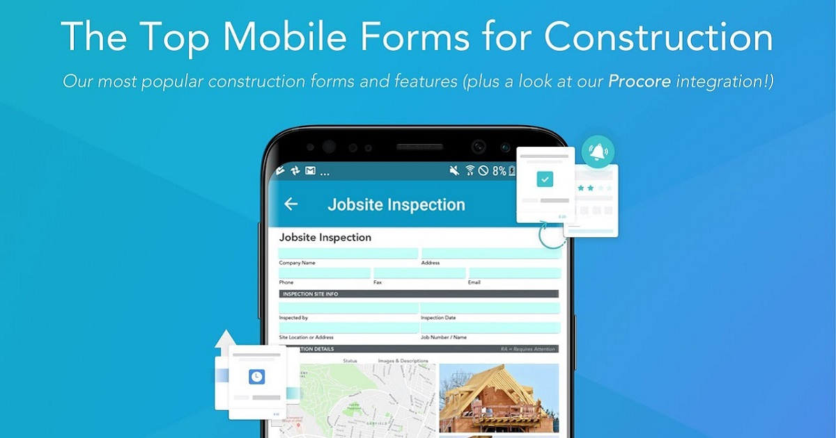 The Top Mobile Forms for Construction