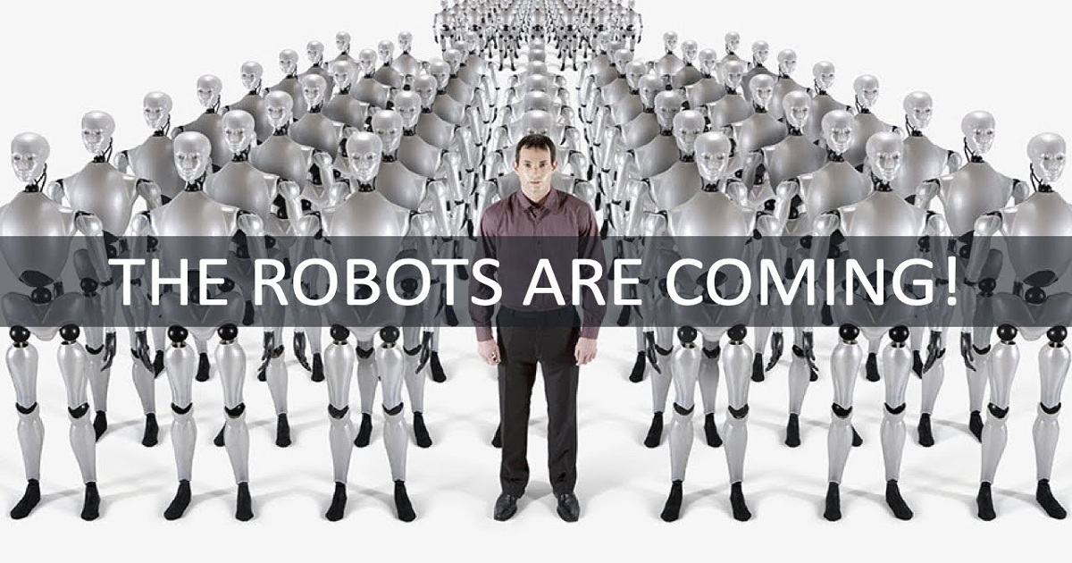 The Robots Are Coming webinar