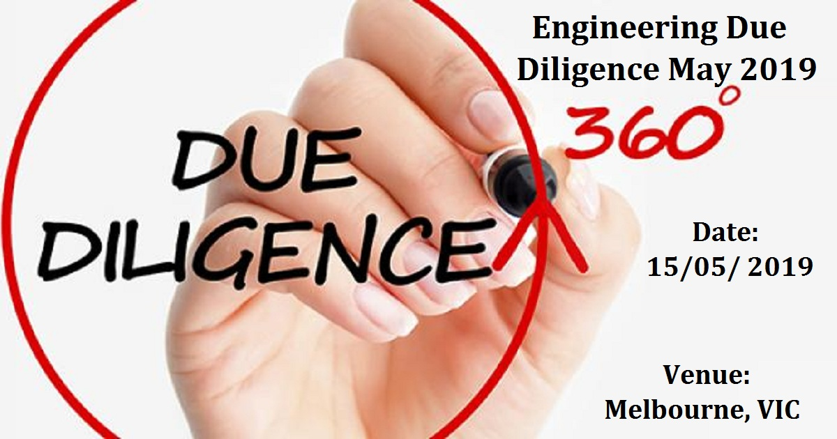 Engineering Due Diligence May 2019