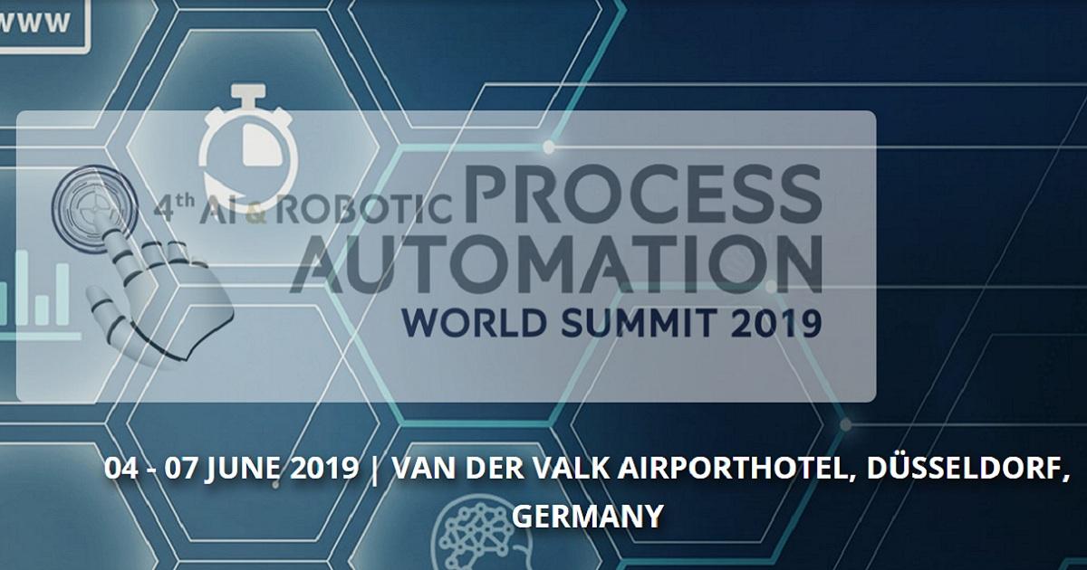AI and Robotic Process Automation World Summit