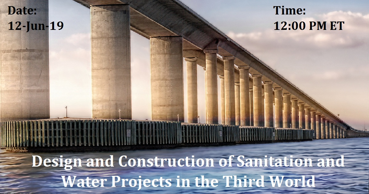 Design and Construction of Sanitation and Water Projects in the Third World