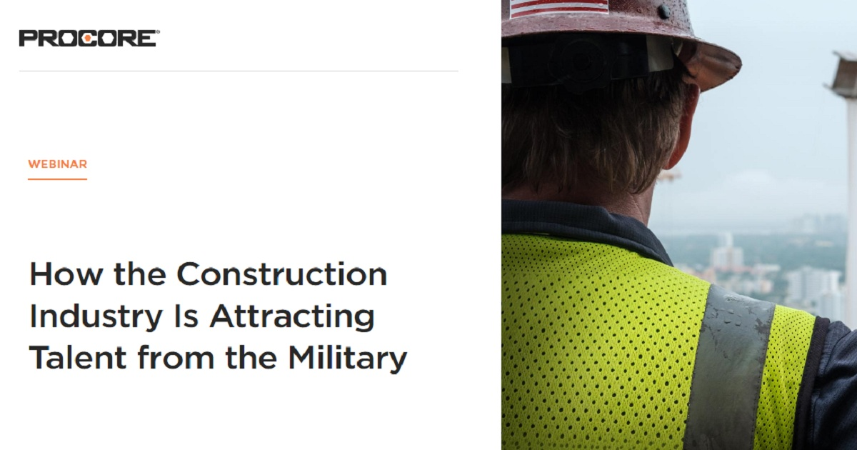 How the Construction Industry Is Attracting Talent from the Military