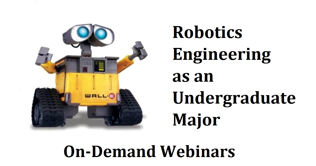 On demand webinars engineeringport robotics engineering as an undergraduate major fandeluxe