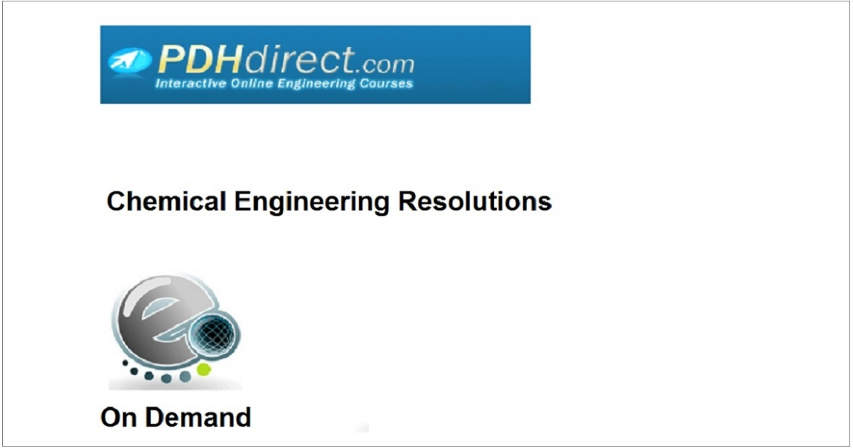 Chemical Engineering Resolutions