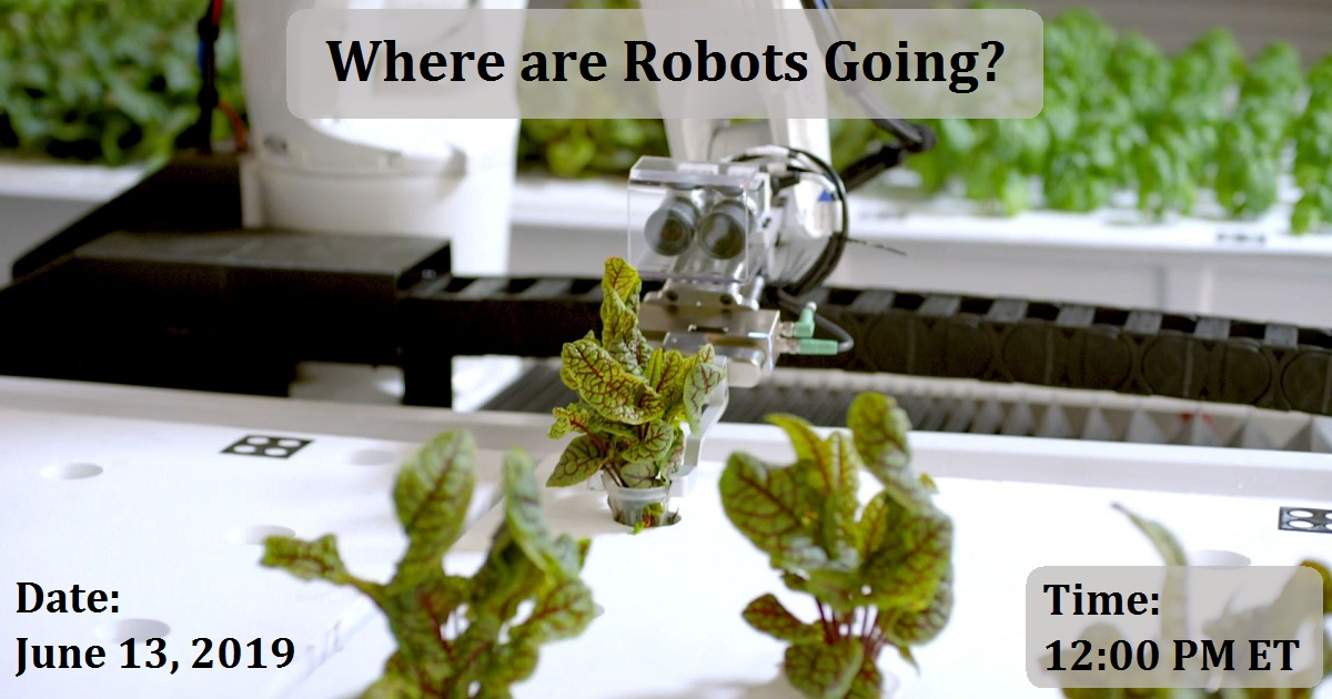 Where are Robots Going?