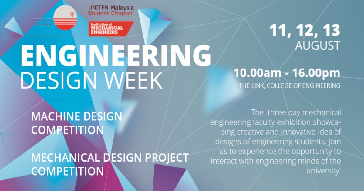 Mechanical Engineering Design Week