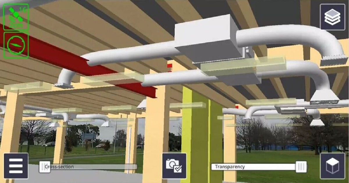 TRIMBLE'S SITEVISION TURNS YOUR PHONE INTO AN AUGMENTED REALITY BIM COORDINATION MACHINE